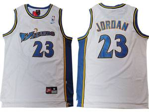 Mens Nba Washington Wizards #23 Michael Jordan White Swingman Nike Jersey