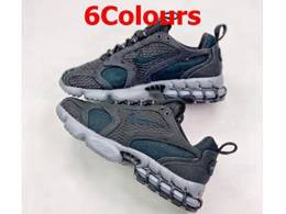 Mens And Women Stussy X Nike Air Zoom Spiridon Cage 2 Running Shoes 6 Colors