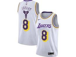 Mens Nba Los Angeles Lakers #8 Kobe Bryant White Special Edition 2020 Nike Jersey