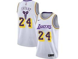 Mens Nba Los Angeles Lakers #24 Kobe Bryant White Special Edition 2020 Nike Jersey