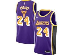 Mens Nba Los Angeles Lakers #24 Kobe Bryant Purple Special Edition 2020 Nike Jersey