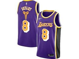 Mens Nba Los Angeles Lakers #8 Kobe Bryant Purple Special Edition 2020 Nike Jersey