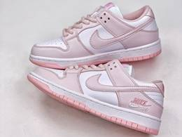 Women Nike Sb Dunk Low Running Shoes Pink Color