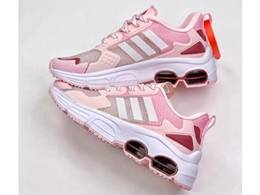 Women Adidas Quadcube Running Shoes Pink Color