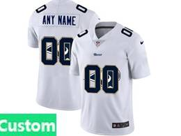 Mens Nfl Los Angeles Rams Custom Made White Shadow Logo Vapor Untouchable Limited Jersey