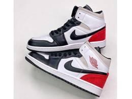 Mens And Women Nike Air Jordan 1 Mid Running One Color