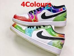 Mens And Women Nike Air Jordan 1 Low Running Shoes 4 Colors