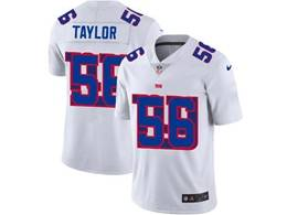 Mens Nfl New York Giants #56 Lawrence Taylor White Shadow Logo Vapor Untouchable Limited Jersey