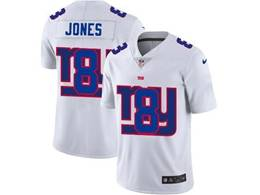 Mens Nfl New York Giants #8 Daniel Jones White Shadow Logo Vapor Untouchable Limited Jersey