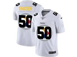Mens Nfl Pittsburgh Steelers #50 Ryan Shazier White Shadow Logo Vapor Untouchable Limited Jersey