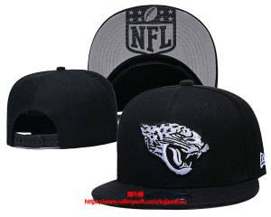 Mens Nfl Jacksonville Jaguars Black Snapback Adjustable Hats Ec8500913