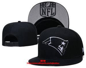 Mens Nfl New England Patriots Black Snapback Adjustable Hats Black Ec8500914