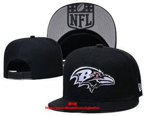 Mens Nfl Baltimore Ravens Snapback Adjustable Hats Black Ec8500919