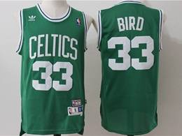 Mens Nba Boston Celtics #33 Larry Bird Green Mitchell&ness Hardwood Classics Swingman Jersey