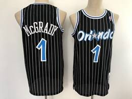 Mens Nba Orlando Magic #1 Tracy Mcgrady Black 2003-04 Mitchell&ness Hardwood Classics Swingman Jersey