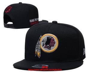 Mens Nfl Washington Redskins Snapback Adjustable Hats Black Ec8500995
