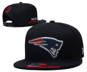 Mens Nfl New England Patriots Snapback Adjustable Hats Black Ec8500998