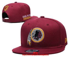 Mens Nfl Washington Redskins Snapback Adjustable Hats Red Ec8501003