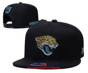 Mens Nfl Jacksonville Jaguars Snapback Adjustable Hats Black Ec8501010