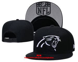 Mens Nfl Carolina Panthers Snapback Adjustable Hats Black Ec8501014