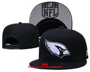 Mens Nfl Arizona Cardinals Snapback Adjustable Hats Black Ec8501016