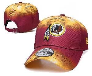 Mens Nfl Washington Redskins Team Color Multicolour Gradient Snapback Adjustable Curved Hats Ec8501030