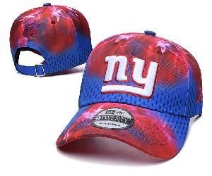 Mens Nfl New York Giants Team Color Multicolour Gradient Snapback Adjustable Curved Hats