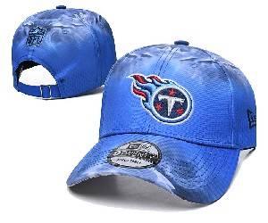 Mens Nfl Tennessee Titans Team Color Multicolour Gradient Snapback Adjustable Curved Hats