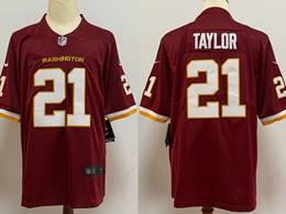 Mens Nfl Washington Redskins #21 Sean Taylor Red Vapor Untouchable Football Team Nike Jersey