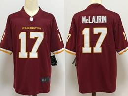 Mens Nfl Washington Redskins #17 Terry Mclaurin Red Vapor Untouchable Football Team Nike Jersey