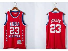 Mens Nba Chicago Bulls #23 Michael Jordan White 1989 All Star Mitchell&ness Hardwood Classics Jersey