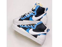 Mens And Women Sacai X Nike Blazer With Dunk Running Shoes One Color