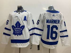 Mens Nhl Toronto Maple Leafs #16 Mitchell Marner White Hockey Adidas Jersey