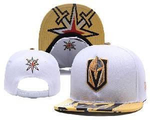 Mens Nfl Vegas Golden Knights Falt Snapback Adjustable Hats Black Gray White 3 Color