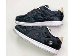 Mens And Women Nike Sb Dunk Low X Medicom Toy Running Shoes One Color