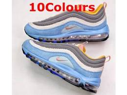 Mens And Women Nike Air Max 97 Running Shoes 10 Colors