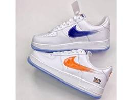 "Mens And Women Nike Air Force 1 Low "" What The Nyc"" Running Shoes One Color"
