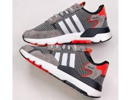 Mens And Women Adidas Nite Jogger 2020 Boost Running Shoes One Color