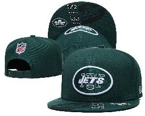 Mens Nfl New York Jets Falt Snapback Adjustable Hats Green Ec8501503