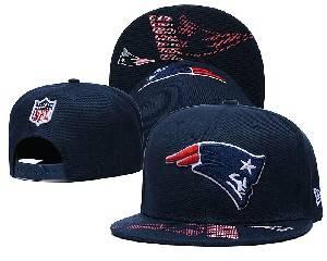 Mens Nfl New England Patriots Falt Snapback Adjustable Hats Blue 9.3