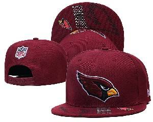 Mens Nfl Arizona Cardinals Falt Snapback Adjustable Hats Red 9.3
