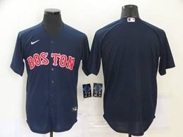 Mens Mlb Boston Red Sox Blank Blue Cool Base Nike Jersey