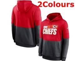 Mens Nfl Kansas City Chiefs Pocket Hoodie Nike Jersey 2 Colors