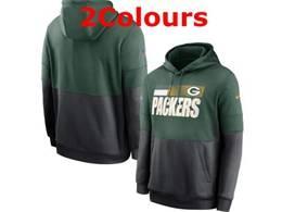 Mens Nfl Green Bay Packers Pocket Hoodie Nike Jersey 2 Colors
