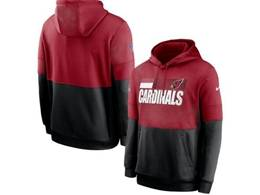 Mens Nfl Arizona Cardinals Red And Black Pocket Hoodie Nike Jersey