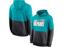 Mens Miami Dolphins Green And Black Pocket Hoodie Nike Jersey