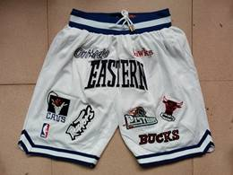 Mens Nba All Star White Just Don Pocket Shorts