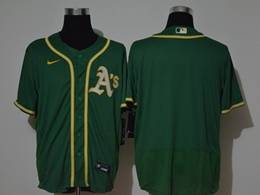 Mens Mlb Oakland Athletics Blank Green Flex Base Nike Jersey
