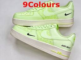 Mens And Women Nike Air Force 1 Running Shoes 9 Colors