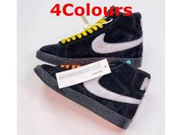 Mens And Women Nike Blazer Mid Running Shoes 4 Colors
